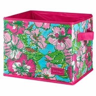 Lilly Pulitzer Big Flirt MEDIUM Storage Box