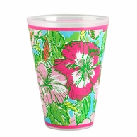 Lilly Pulitzer Big Flirt Reusable Tumblers - SET OF 8