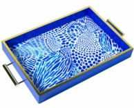 Lilly Pulitzer Blue Tang Gang Hostess Tray