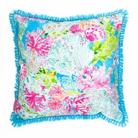 Lilly Pulitzer Coral Cay Large Pillow