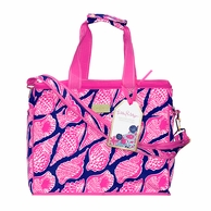 Lilly Pulitzer Cute As Shell Insulated Cooler Tote