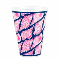 Lilly Pulitzer Cute As Shell Reusable Tumblers - SET OF 8