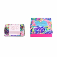 Lilly Pulitzer Exotic Garden Soap & Tray Gift Set