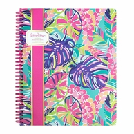 Lilly Pulitzer Exotic Garden Spiral Notebook