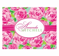 Lilly Pulitzer First Impressions Personalized Fold Over Notecards