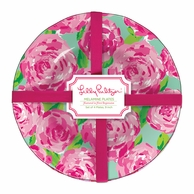 Lilly Pulitzer First Impressions Melamine Plates - SET OF 4