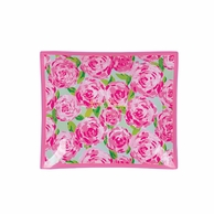 Lilly Pulitzer First Impressions MEDIUM Glass Catch All Tray