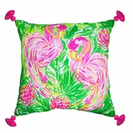 Lilly Pulitzer Flamingo XL Pillow