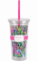 Lilly Pulitzer Hot Spot Insulated Straw Tumbler