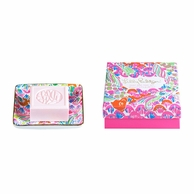 Lilly Pulitzer I'm So Hooked Soap & Tray Gift Set