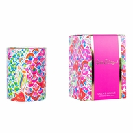 Lilly Pulitzer Im So Hooked Soy Candle - Gift Boxed