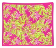 Lilly Pulitzer Jungle Tumble Glass Catch All Tray