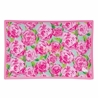 Lilly Pulitzer Large First Impressions Glass Catch All Tray