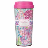 Lilly Pulitzer Lets Cha Cha Thermal Mug