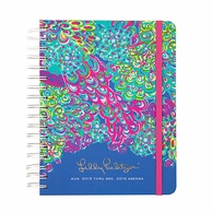 Lilly Pulitzer Lilly's Lagoon 2015-2016 LARGE Agenda