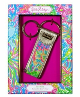 Lilly Pulitzer Lovers Coral Key FOB