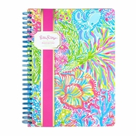 Lilly Pulitzer Lovers Coral Mini Spiral Notebook