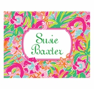 Lilly Pulitzer Lulu Personalized Fold Over Note Cards