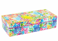 Lilly Pulitzer Mermaid Medium Lacquer Trinket Box