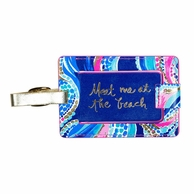 Lilly Pulitzer Ocean Jewels Luggage Tag