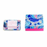 Lilly Pulitzer Ocean Jewels Soap & Tray Gift Set