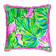 Lilly Pulitzer Painted Palm Large Pillow