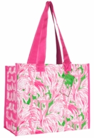 Lilly Pulitzer Pink Colony Market Bag