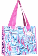 Lilly Pulitzer Red Right Return Reusable Market Tote