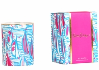 Lilly Pulitzer Red Right Return Soy Glass Candle