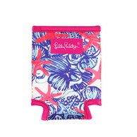 Lilly Pulitzer She She Shells Drink Huggers - SET OF 2