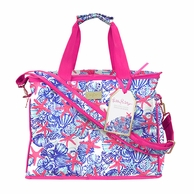 Lilly Pulitzer She She Shells Insulated Cooler Tote