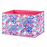 Lilly Pulitzer She She Shells LARGE Storage Box