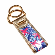 Lilly Pulitzer She She Shells Print Key FOB