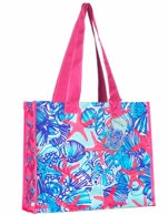 Lilly Pulitzer She She Shells Reusable Market Tote