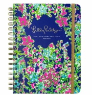 Lilly Pulitzer Southern Charm Large 17 Month Agenda