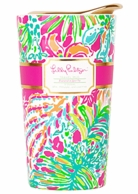 Lilly Pulitzer Spot Ya Ceramic Travel Mug