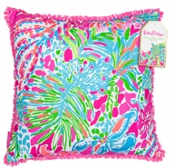 Lilly Pulitzer Spot Ya Large Throw Pillow
