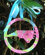 Lilly Pulitzer State Acrylic Ornament