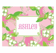 Lilly Pulitzer Tootie Fruity Personalized Fold Over Note Cards