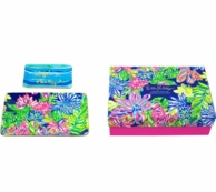 Lilly Pulitzer Trinket Tray Set Travelers Palm