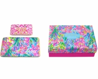 Lilly Pulitzer Trinket Trays Fan Sea Pants