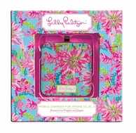 Lilly Pulitzer Trippin and Sippin iPhone 5 Mobile Charger Battery