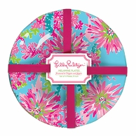 Lilly Pulitzer Trippin and Sippin Melamine Plates - SET OF 4