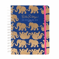 Lilly Pulitzer Tusk In Sun 2015-2016 LARGE Agenda