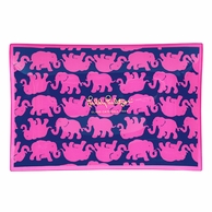 Lilly Pulitzer Tusk In Sun Large Glass Catch All Tray