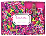 Lilly Pulitzer Wild Confetti Passport Holder & Luggage Tag Set