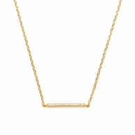 Lincoln Gold Bar Necklace