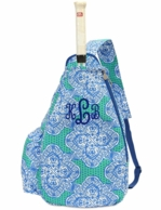 Mai Tai Monogrammed Sling Tennis Backpack
