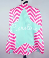 Maisy Pink Personalized Kids Super Hero Cape