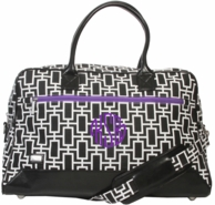 Mercer Monogrammed Expediter Travel Bag